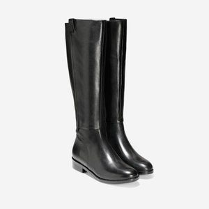Cole Haan Grand OS Leather Katrina Riding Boots
